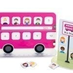 Reward Chart Bus in Pink | Magnetic Reward Chart