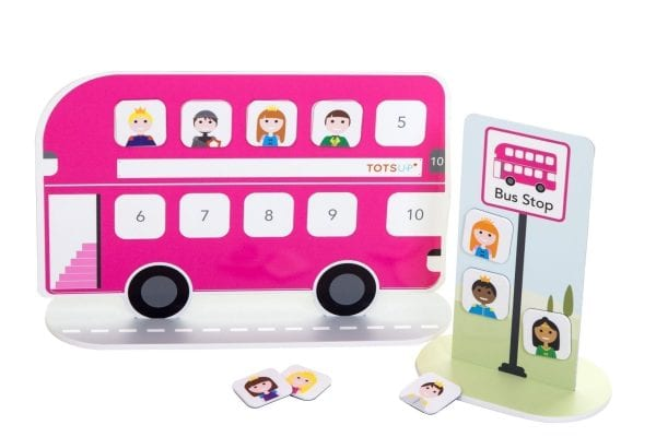 Reward Chart Bus in Pink | Magnetic Reward Chart