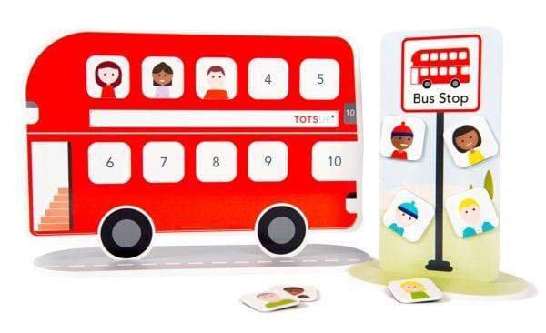 Red Bus Reward Chart