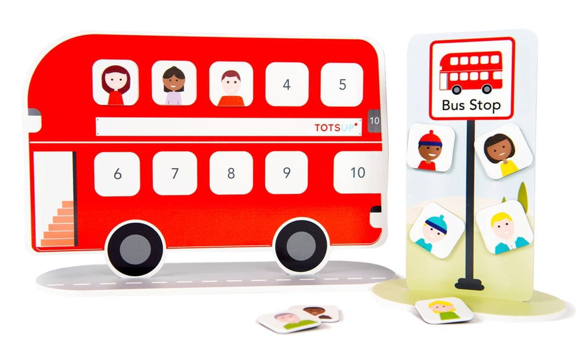 Red Bus Reward Chart