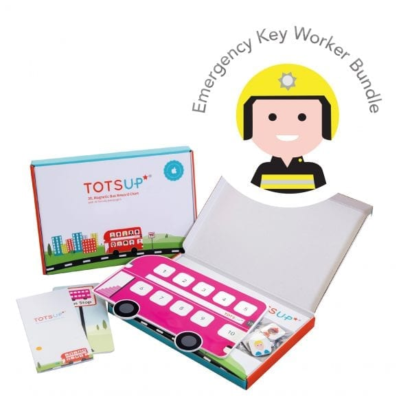 TotsUp Pink Key Worker Bundle