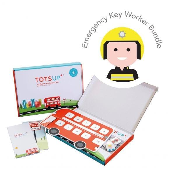 TotsUp Red Key Worker Bundle