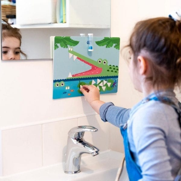 TotsUp Magnetic Tooth Brushing Chart Lifestyle 1